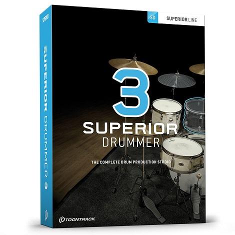 Toontrack Superior Drummer v3.2.5 (Mac) Latest 2020 Download