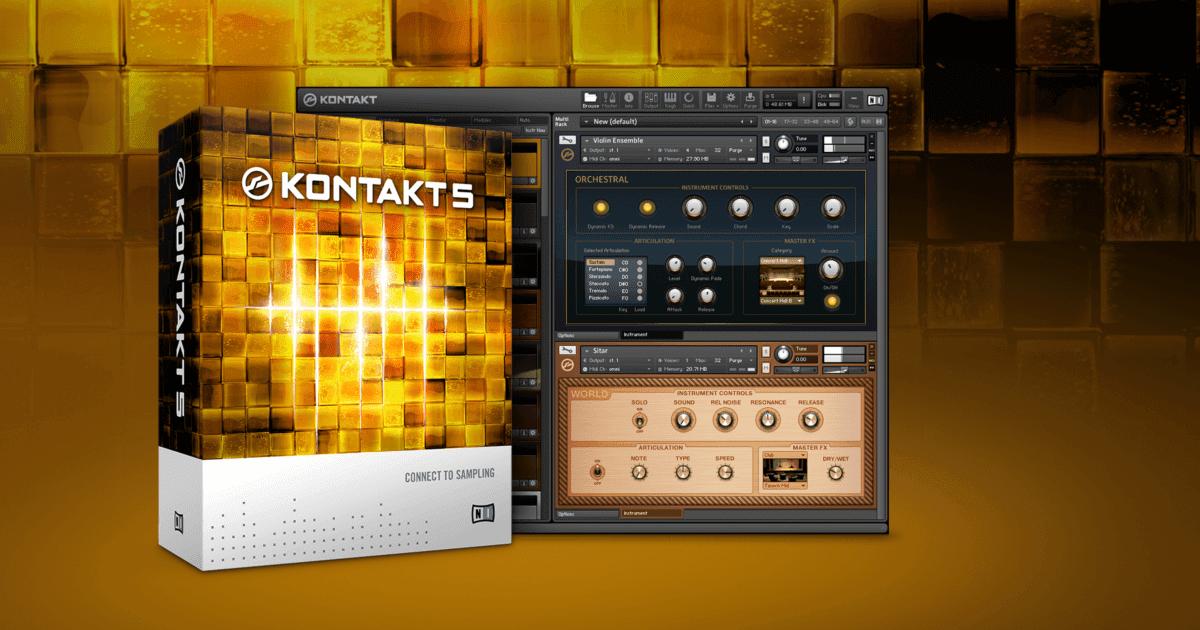 Native Instruments Kontakt Crack 6 v6.6.1 Full Version Free Download