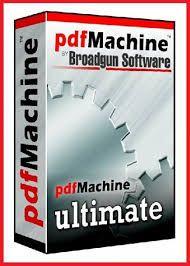 Broadgun pdfMachine Ultimate Crack 15.51 & Serial Keygen [Latest 2021] Free Download